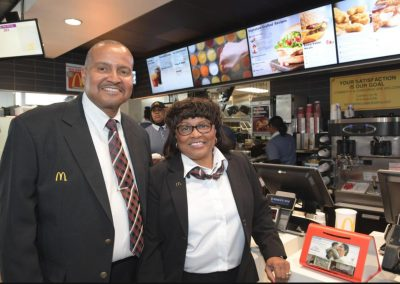 Local McDonald's restaurant rolls up new technology
